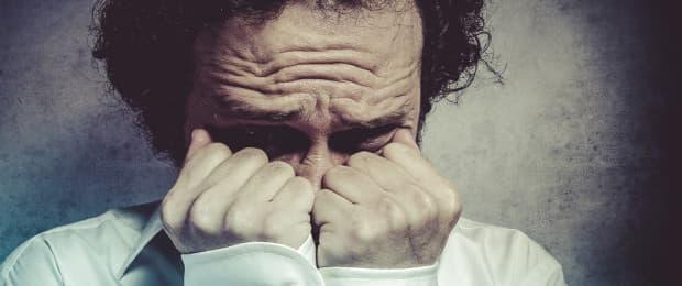 man with addiction feeling stigmatized