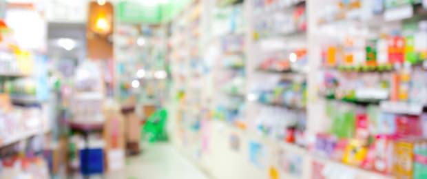 inside pharmacy store